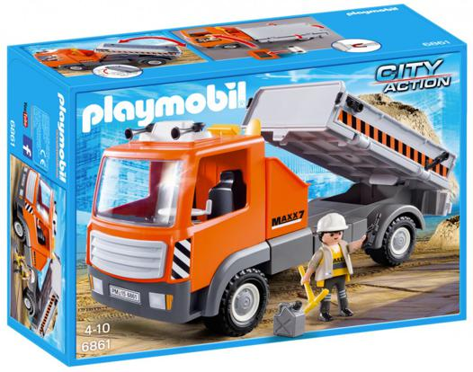 playmobil camion chantier