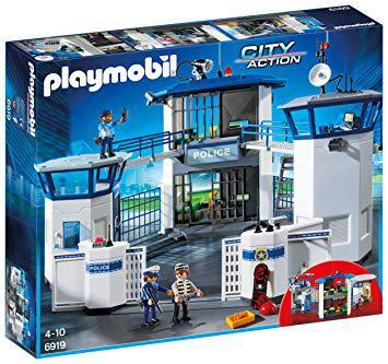 playmobil caserne police