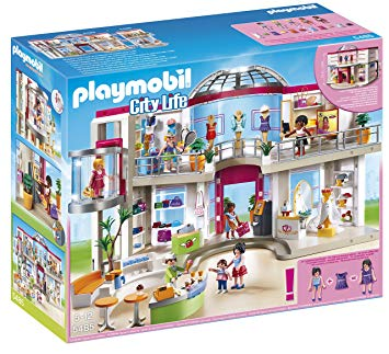 playmobil centre commercial