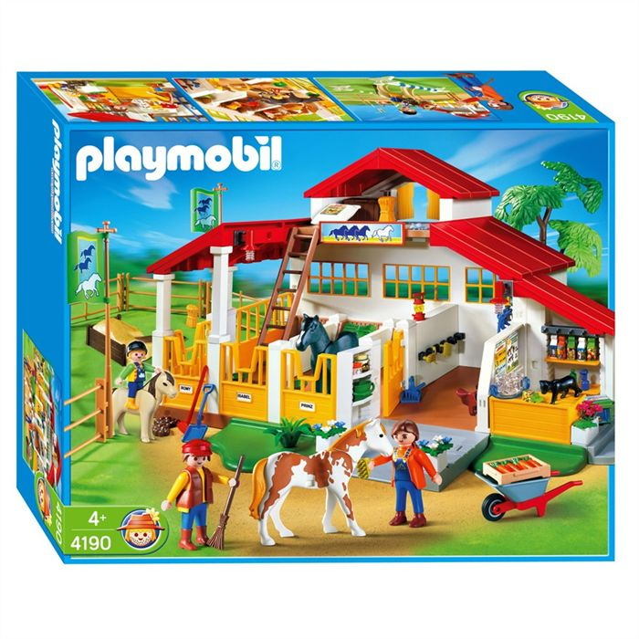 playmobil centre equestre 4190