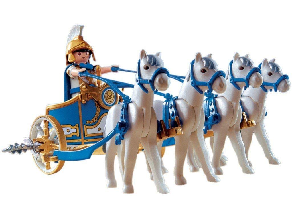playmobil chariot