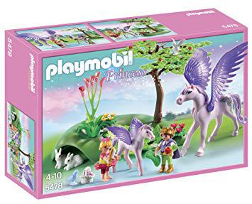 playmobil cheval ailé