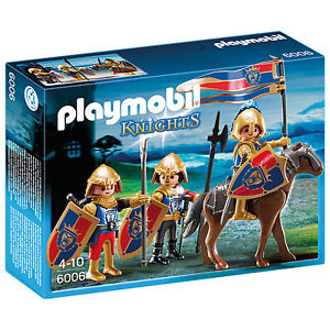 playmobil chevalier du lion