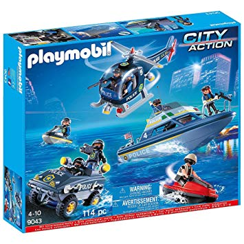 playmobil city action police