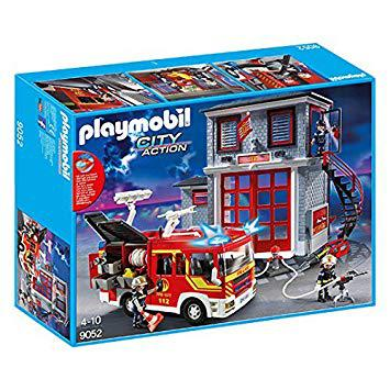 playmobil city action pompier
