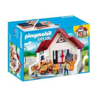 playmobil city life ecole