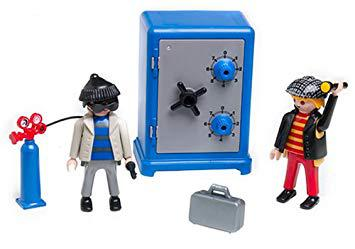 playmobil coffre fort