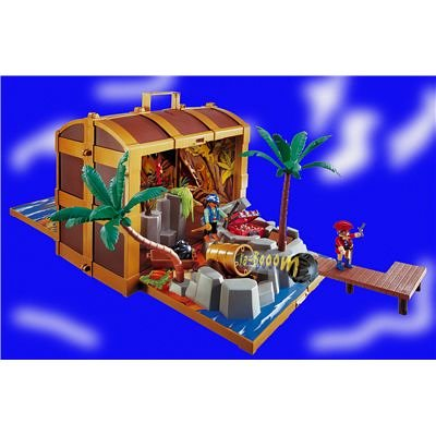 playmobil coffre pirate