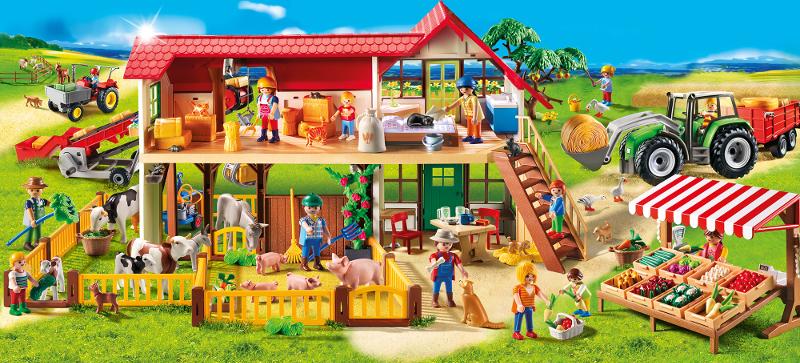 playmobil country 6120 grande ferme