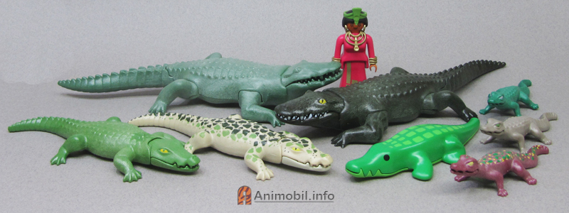playmobil crocodile