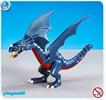 playmobil dragon bleu