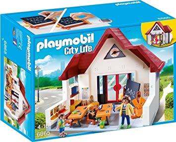 playmobil ecole avec salle de classe