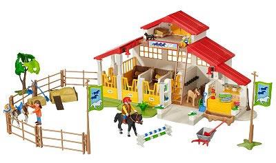 playmobil equestrian centre