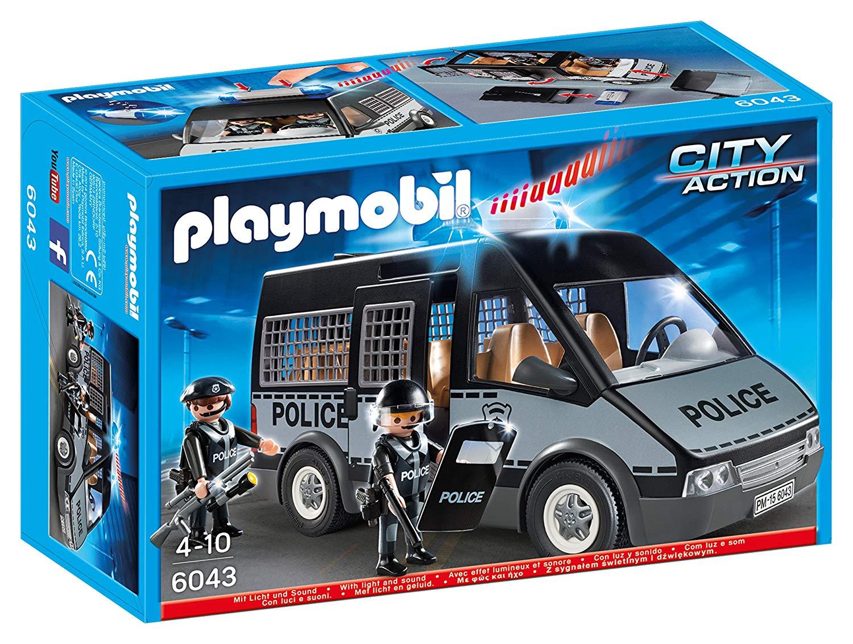 playmobil fourgon police 6043