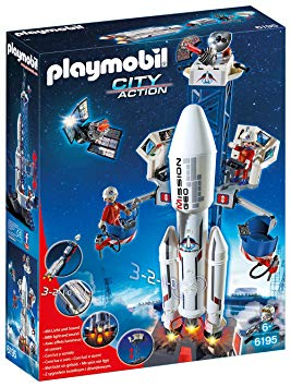 playmobil fusée 6195