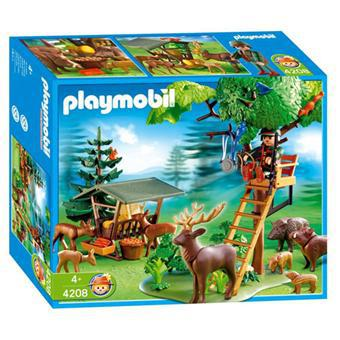 playmobil garde forestier