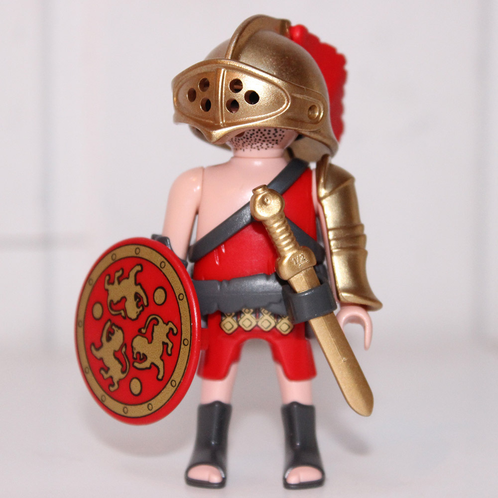 playmobil gladiateur