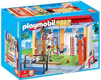 playmobil gymnase