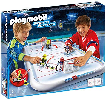 playmobil hockey sur glace