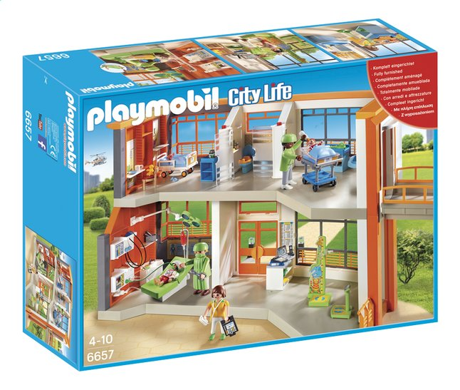 playmobil hopital