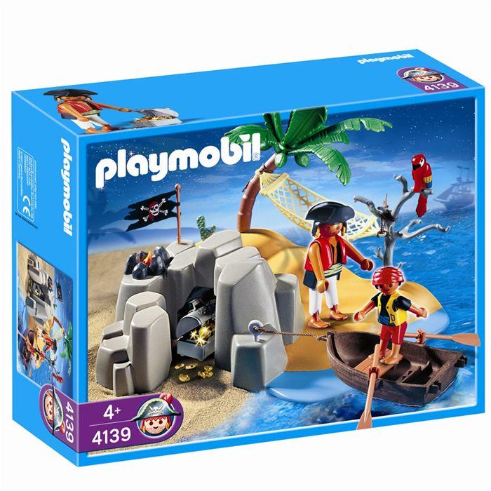 playmobil ile pirate