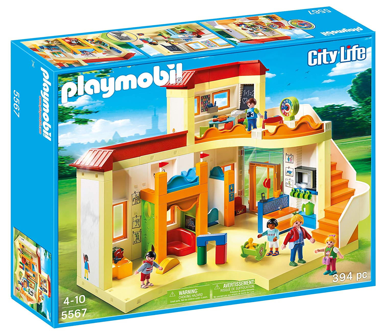 playmobil la garderie