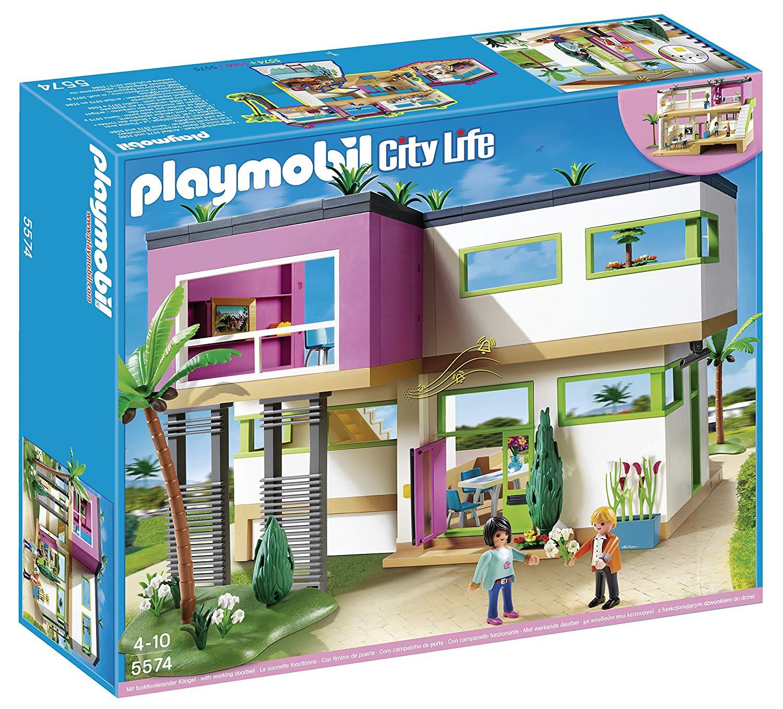 playmobil la villa moderne