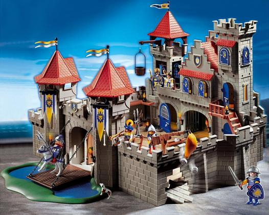 playmobil le chateau fort
