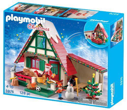 playmobil maison du pere noel