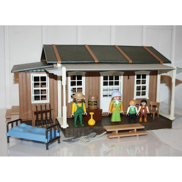 playmobil maison western
