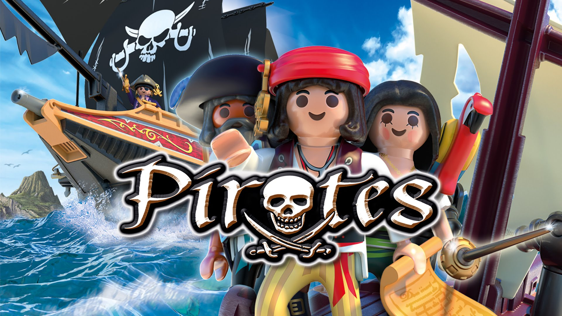 playmobil pirate video