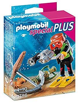 playmobil plongeur