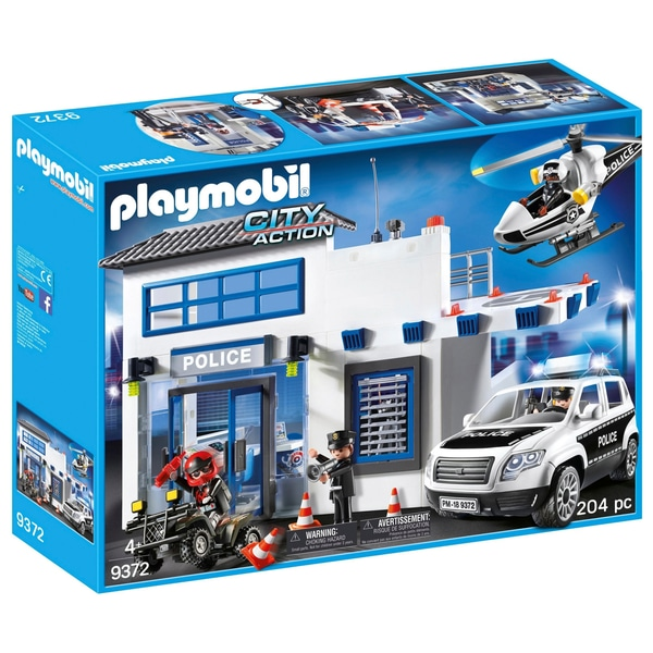 playmobil police city action