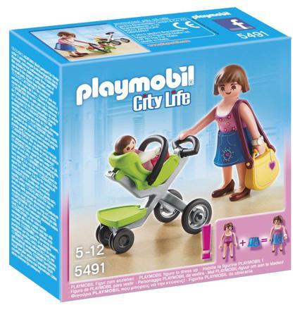 playmobil poussette