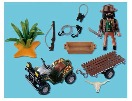 playmobil safari quad