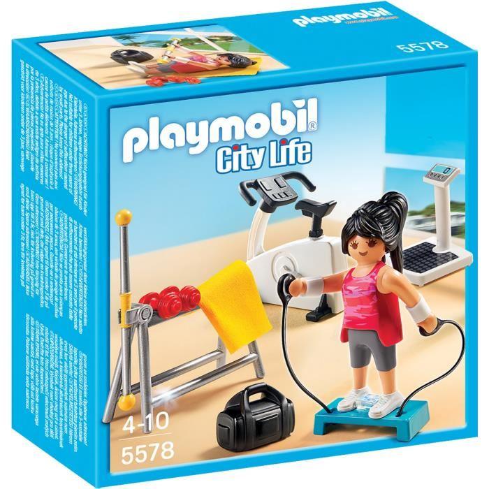 playmobil salle de sport