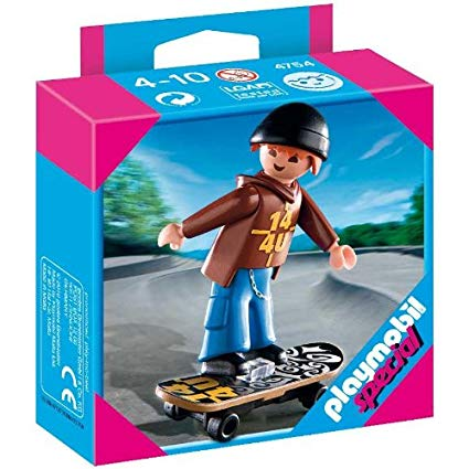 playmobil skateboard
