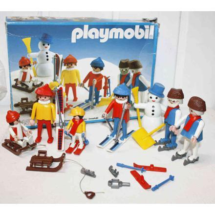 playmobil skieur