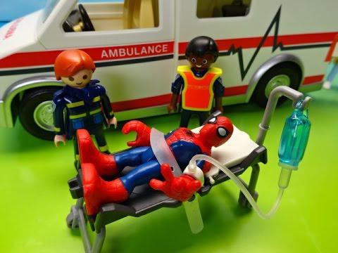 playmobil spiderman