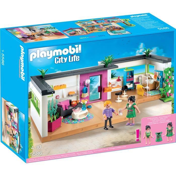 playmobil studio des invités