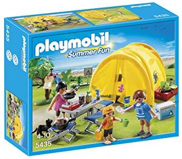 playmobil tente