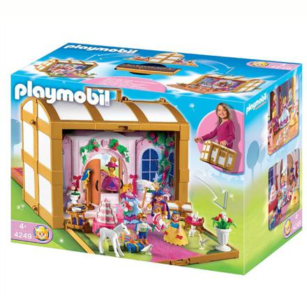 playmobil transportable princesse