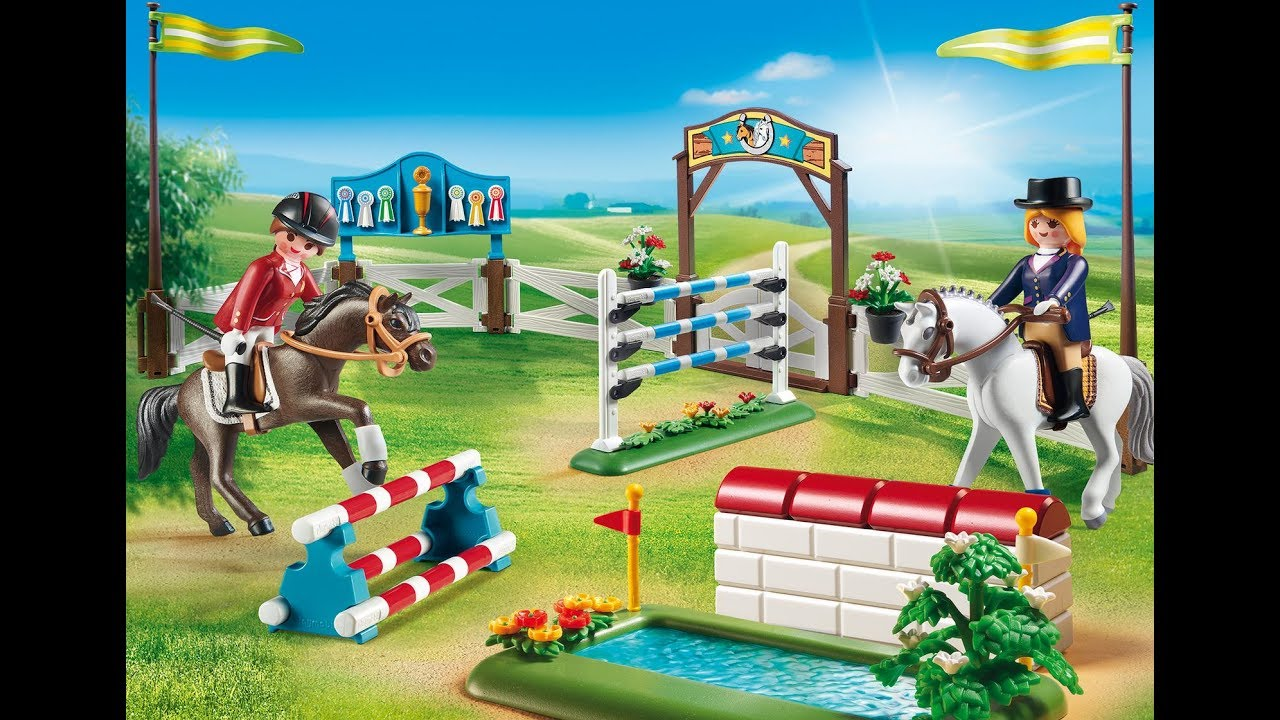 playmobil video centre equestre