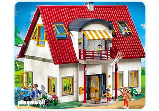 playmobil villa moderne maison 4279