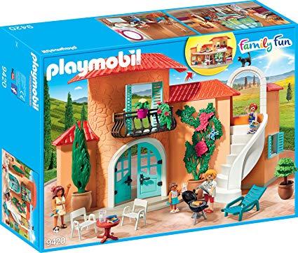 playmobil villa