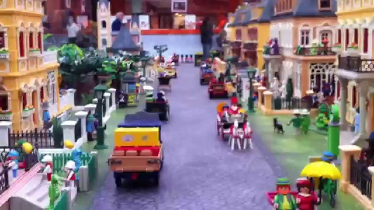 playmobil village