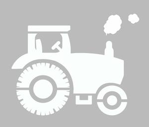 pochoir tracteur