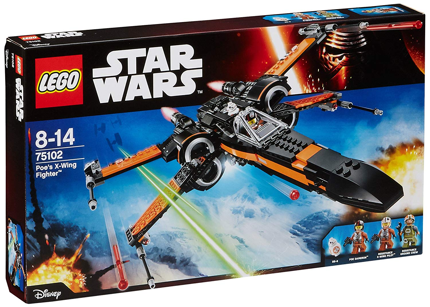 poe's x wing lego