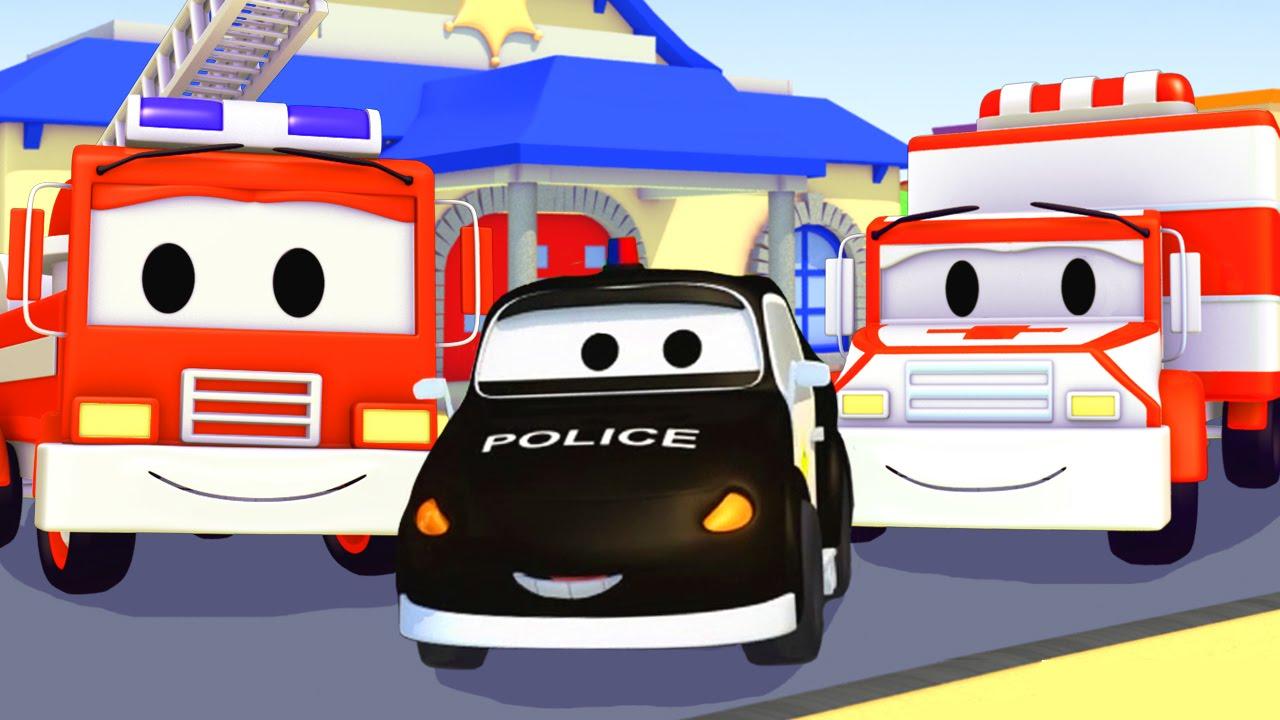 police pompier