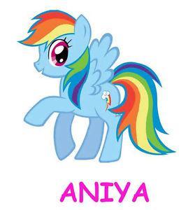 poney rainbow